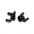 CNC Machined Alum. Front C-Hub Carrier (1 pair) Black