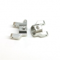 CNC Machined Alum. Front C-Hub Carrier (1 pair) Silver