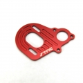 STRC Axial Wraith Limited Edition Red Anodized Motor Mount