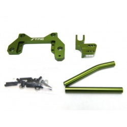 CNC Machined Alum. Off-Axle servo Mount + Panhard kit for Axial Wraith (Green)