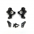 CNC Machined Alum. Steering Knuckle (1 pair) for RR10 Bomber, Wraith, SMT10 (BK)