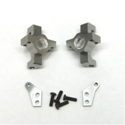 CNC Machined Alum. Steering Knuckle (1 pair) for RR10 Bomber, Wraith, SMT10 (GM)