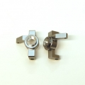 CNC Machined Aluminum Ver.2 HD Steering Knuckle (1 pair) for RR10 Bomber, Wraith, SMT10 (GM)