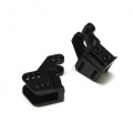 CNC Machined Alum. Lower link/shock mounts for RR10 Bomber, Wraith (1 pair) Black