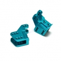CNC Machined Alum. Lower link/shock mounts for RR10 Bomber, Wraith (1 pair) Blue