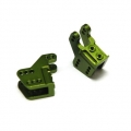 CNC Machined Alum. Lower link/shock mounts for RR10 Bomber, Wraith (1 pair) Green