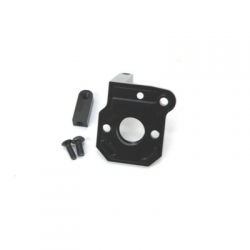 CNC Machined Alum. Transmission Back Plate for Axial Wraith (Black)