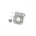 CNC Machined Alum. Transmission Back Plate for Axial Wraith (Silver)