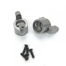 CNC Machined Precision Alum. C-Hubs for Wraith, RR10 Bomber, SMT10 (1 pair) GM