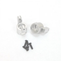 CNC Machined Precision Alum. C-Hubs for Wraith, RR10 Bomber, SMT10 (1 pair) S