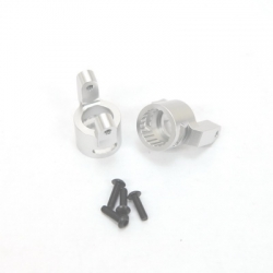 CNC Machined Precision Alum. C-Hubs for Wraith, RR10 Bomber, SMT10 (1 pair) S