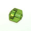 CNC Machined Aluminum Ver. 3 Diff Cover Axial Wraith, Yeti, RR10 Bomber, SMT10 (Green)