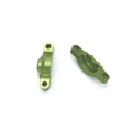 CNC Machined Alum. Internal Diff Holders (1 pair) for Axial Wraith Green