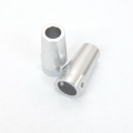 CNC Machined Alum. Rear Lock Outs (1 pair) for Axial Wraith (Silver)