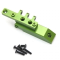 CNC Machined HD Alum. Rear Upper Link Mount, Axial Wraith (Green)