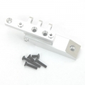CNC Machined HD Alum. Rear Upper Link Mount, Axial Wraith (Silver)