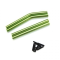 STRC CNC Machined Alum. Upper & Lower Suspension Links for Axial Wraith (Green)