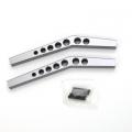 STRC CNC Machined Aluminum HD Upper Suspension Links for Axial Wraith (1 pair) Gun Metal
