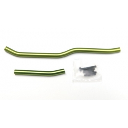 STRC Heavy Duty Aluminum Steering linkage set for Axial Wraith (Green)