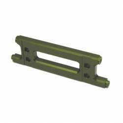 CNC Machined Aluminum HD Rear Cage Stiffener (Green)