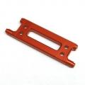 CNC Machined Aluminum HD Rear Cage Stiffener (Orange)