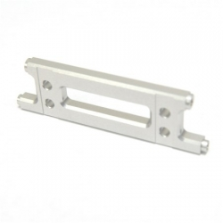 CNC Machined Aluminum HD Rear Cage Stiffener (Silver)