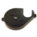 CNC Machined Aluminum Heatsink Motor Plate (black) for Axial Yeti