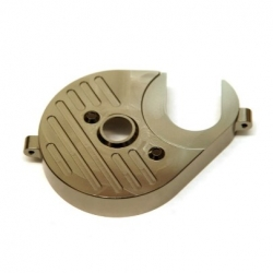 CNC Machined Aluminum Heatsink Motor Plate (GM) for Axial Yeti