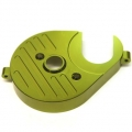 CNC Machined Aluminum Heatsink Motor Plate (Green) for Axial Yeti
