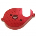 CNC Machined Aluminum Heatsink Motor Plate (Red, web limited) for Axial Yeti