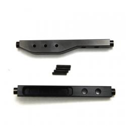 CNC Machined Aluminum Rear Lower Suspension Links (1 pair) for Yeti, Black