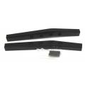 CNC Machined Aluminum Rear Upper Suspension Links (1 pair) for Yeti, Black