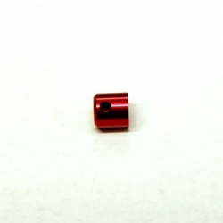 Replacement CNC Machined Aluminum Driveshaft Cups (1 pcs) (Red, web limited)