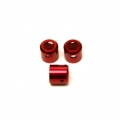 CNC Machined Aluminum Driveshaft Cups (3 pcs), Yeti (Red, web limited)