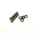 CNC Machined Aluminum Steering Posts upgrade (2pcs) and bearings (4 pcs) Yeti (GM)