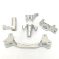 CNC Machined Aluminum Steering Bellcrank set (5 pcs) Yeti, Silver