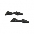 CNC Machined Graphite Rear Upper Shock Mount Plate for Yeti (1 pair)