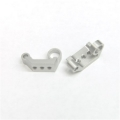 CNC Machined Aluminum Rear Sway Bar Mount (1 pair) for Yeti, Silver