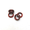 CNC Machined Aluminum Shock Collar (w/O-rings) 4 pcs for Wraith, Yeti, EXO (Red)