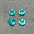 CNC Machined Alum. Shock Caps for Axial Wraith (4 pcs) Blue