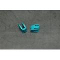 CNC Machined Alum. HD Bottom Shock Mounts (1 pair) for Axial Wraith (Blue)