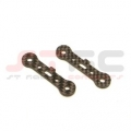 HPI E-Savage LW Graphite Lower Hinge-Pin brace (1 pair)