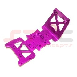 HPI E-Savage HD Front or Rear Skid Plate (purple) w/hardware (1 piece)