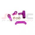 HPI E-Savage Aluminum Steering Bellcranks w/bearings (Purple)