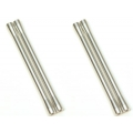 CNC Machined Aluminum M4 threaded 7.5x101.5mm Links (4pcs) Silver