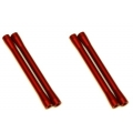 CNC Machined Aluminum M4 threaded 7.5x80mm Links (4 pcs) Red