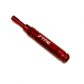 STRC CNC Machined Aluminum Precision 5.5mm Nut Driver (Red)
