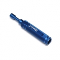STRC CNC Machined Aluminum Precision 7mm Nut Driver (Blue)