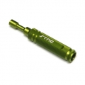 STRC CNC Machined Aluminum Precision 7mm Nut Driver (Green)