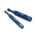 STRC CNC Machined Aluminum 5.5mm & 7mm Nut Driver combo pack (Blue)